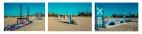 Carrière, panorama de 3 photographies, 200 x 300 cm chacune, 2016.